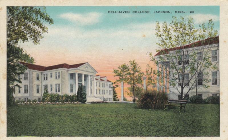 JACKSON , Mississippi , 1936 ; Bellhaven College