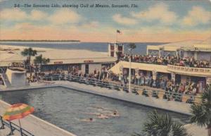 Florida Sarasota The Sarasota Lido Swimming Pool Curteich