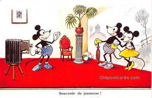 Walt Disney Writing on back