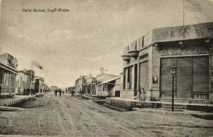 argentina, BAHIA BLANCA, Calle Siches, Ingeniero White (1927) Eladio Bautista