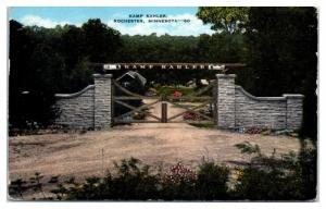 1944 Kamp Kahler, Rochester, MN Postcard
