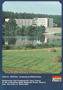Elektrenia Lithuania Regional Power Station Postcard