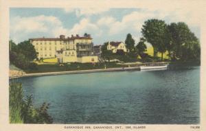GANANOQUE , Ontario, 1910-30s ; GANANOQUE INN