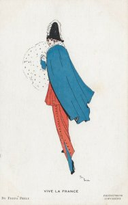 ART DECO ; Freda PEELE ; Female Fashion , Viva LA FRANCE , 1910-30s