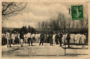 CPA   Lérouville - 154* Régiment d'Infanterie - Lecture du Rapport    (432827)