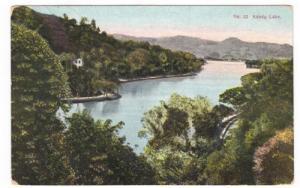 Postcard, Ceylon, Kandy Lake, Kandy to Vienna, Austria, 1913