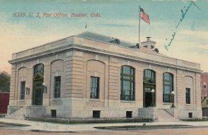 BOULDER , Colorado, 1915 ; Post Office