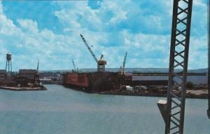 Collingwood Ship Yard, COLLINGWOOD, Ontario, Canada, 40-60´s