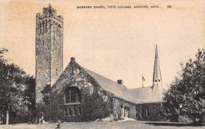 Massachusetts Medford Tufts College   Goddard Chapel