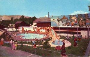 ROMNEY MOTOR LODGE Swimming pool & Fairyland. SALT LAKE CITY, UTAH
