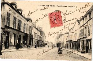 CPA BAR-sur-AUBE - Rue nationale (197169)