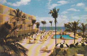 Tropical Motel Pool Miami Florida