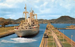 Vessel of the Flota Mercante Gran Colombiana Panama Canal Panama Unused