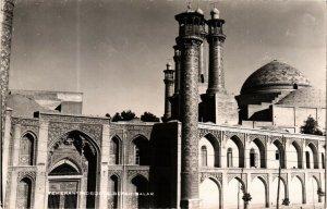 PC CPA IRAN, TEHERAN, MOSQUE SPEAH-BALAR, PHOTO POSTCARD (b4996)