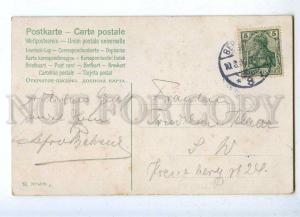 187060 ASTI Belle Woman LONG HAIR Green QUEEN Vintage PC
