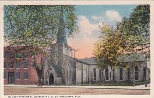Florida St Augustine Oldest Episcopal Church In United States Curteich