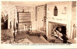 Massachusetts South Sudbury Longfellow's Wayside Inn The Washington Room...