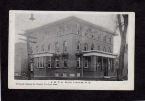 NH YMCA Y M C A Bldg Concord New Hampshire Postcard Vintage UDB