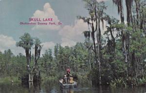 Skull Lake in Okefenokee Swamp Park - GA, Georgia