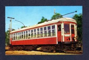 BC Electric Railway Trolley Car Train VANCOUVER Canada