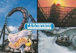 CHARLOTTE, North Carolina, 1960-70s ; Carawinds Amusement Park