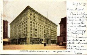 New York Buffalo Ellicott Square 1905