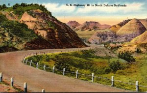 North Dakota Badlands U S Highway No 10