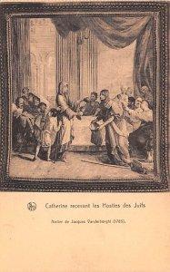 Catherine Recevant les Hosties des Juifs Belgium Unused