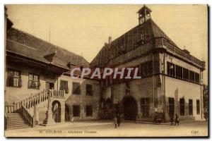 Postcard Old Customs Customs Customs Colmar Kaufhaus Old Custom