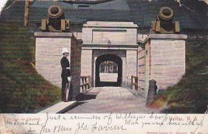 Entrance to Citadell, Halifax, N.S., Canada, PU-1905