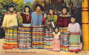 Seminole Indian Squaws  Seminal Indians FL