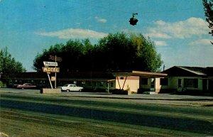 Wyoming Lyman Powers Motel Trailer Park & Overnight Park 1968
