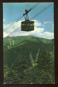 Franconia Notch, New Hampshire/NH Postcard, Cannon Mountain Aerial Tramway