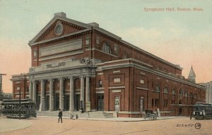 BOSTON , Mass., 1900-10s ; Symphony Hall