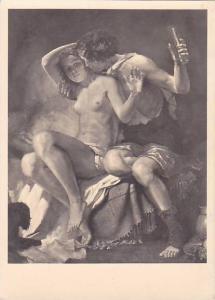 RP,Man Kissing A Nude Lady,Karl Truppe- Baccus Und Ariadne,Haus Der Deutschen...