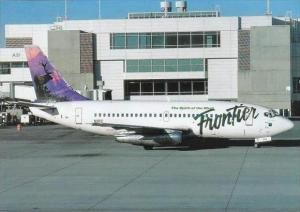 Frontier Airlines Boeing B737 300 N1PC