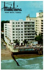 Florida  Miami Beach Atlantic Towers Hotel, Apartments , Cabana Club