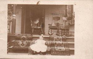 Child on Porch BIN