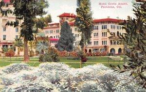 Hotel Green Annex Pasadena CA