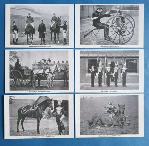 The British Army Cavalry Regiments Postcards Set of 6 set 1 by Geoff White Ltd