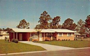 SARASOTA FL~KENSINGTON PARK HOMES~WELLINGTON MODEL-HOME OF TODAY POSTCARD