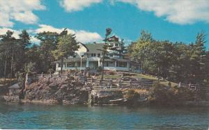 Manitonna Island, One of the 1000 Islands, Ontario, Canada, 40-60s