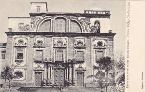 Front Side View Of The Jesuits Church, Ponta Delgada-Acores, Portugal, 1910-1...