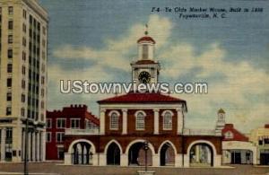 Ye Olde Market House, Built in 1838 Fayetteville NC 1960