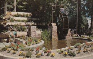 CHEMAINUS, British Columbia, Canada, PU-1972; The Water Wheel