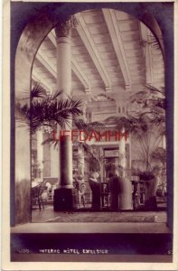 ITALY. LIDO - INTERNO, HOTEL EXCELSIOR