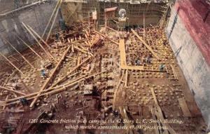 Seattle Washington LC Smith Concrete Construction Vintage Postcard JE228328