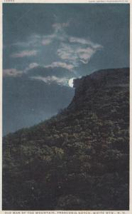 New Hampshire White Mountains Old Man Of The Mountains By Night Franconia Not...