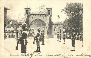 straits settlements, SINGAPORE, Royal Visit Duke and Duchess of York (?) (1901)