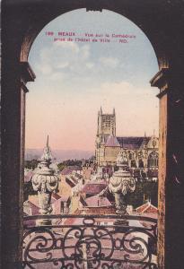 MEAUX,  Seine et Marne, France, 00-10s ; Vue sur la Cathedrale prise de l'Hot...